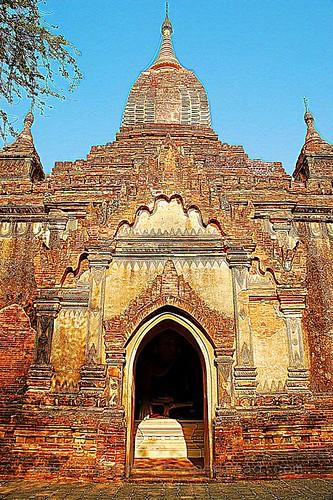 Bagan temple 2