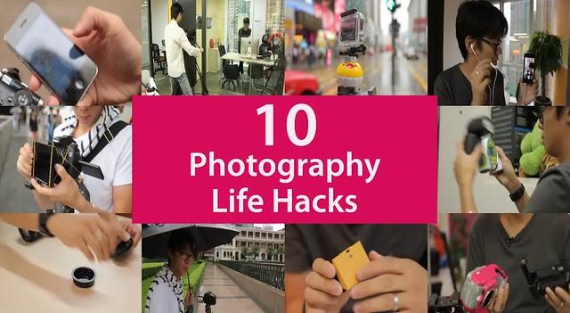 10 trucos de foto, hacks de foto, hacks de fotografia