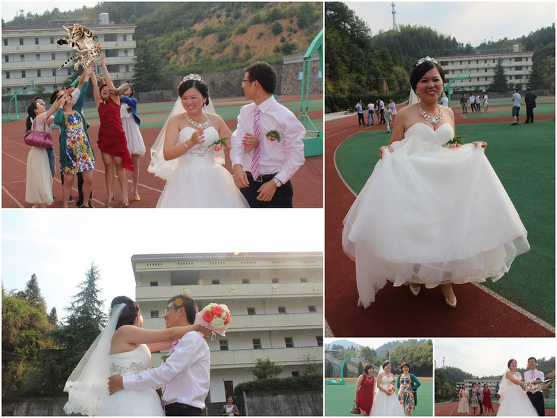 Post-wedding photo shoot in China