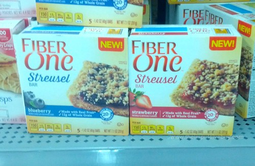 Fiber One Streusel Bar