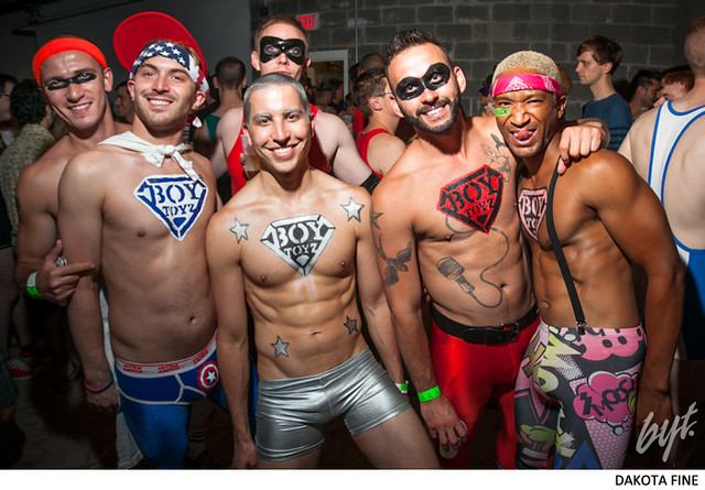 BYT presents Spandex, the official Capital Pride kickoff event, at the the Wonderbread Factory in Washington, D.C. on Friday, June 7, 2013.