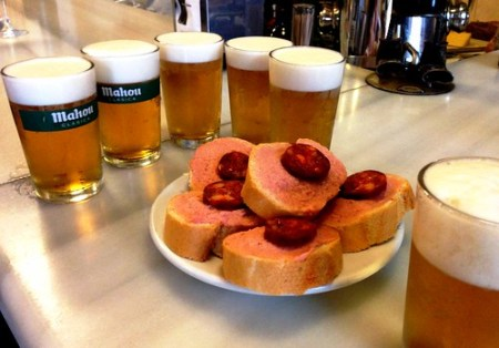 Dove mangiare tapas a Madrid