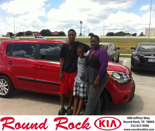 Happy Birthday to Shantiea Little from Amir Mahboubi and everyone at Round Rock Kia! #BDay by RoundRockKia