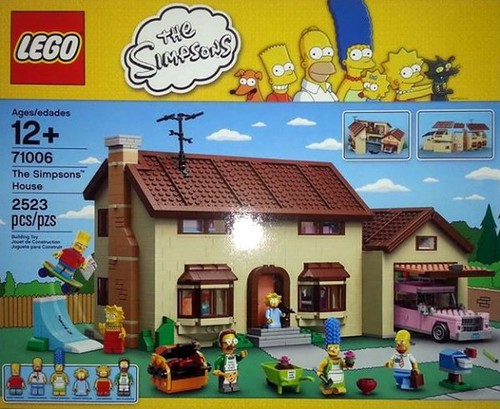 LEGO The Simpsons House (71006)