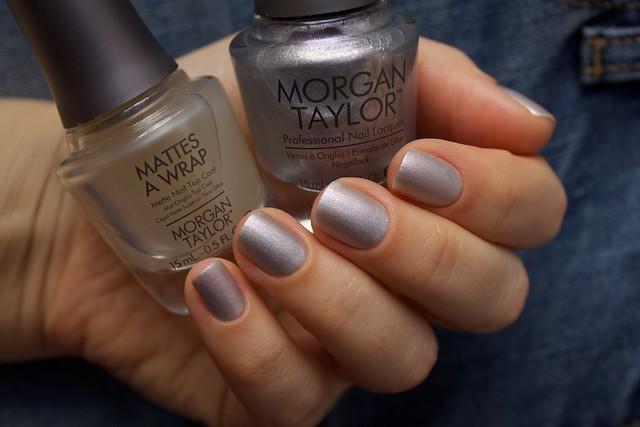 41 Morgan Taylor Oh Snap, It's Silver