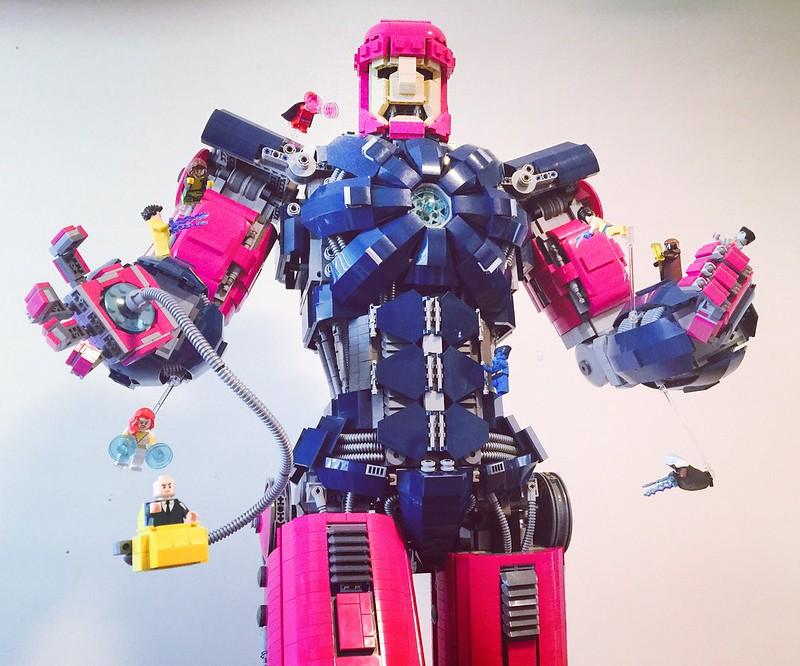 Sentinel unleashed!!! #legosentinel #lego
