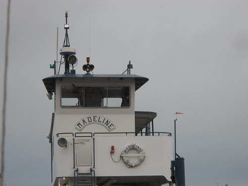 On the Madeline Island ferry
