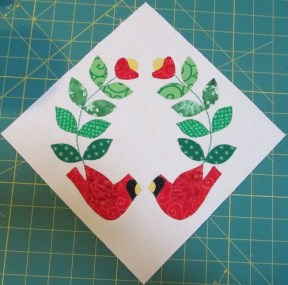Jingle Applique Block 4