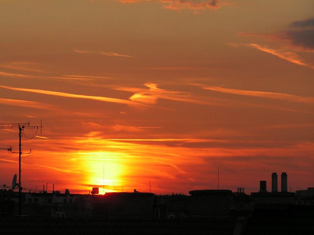 Sunset over Brno (Aug. 30, 2013) 2