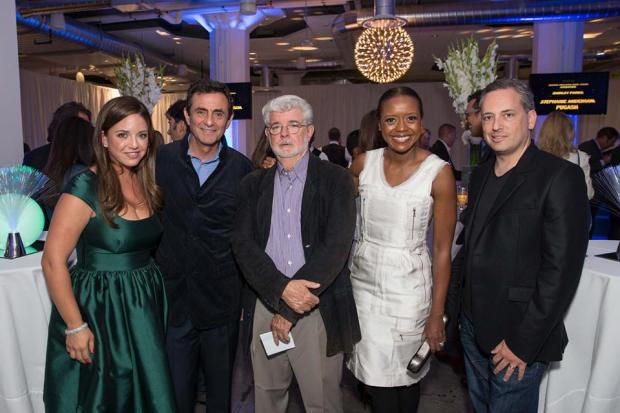 George Lucas, David Sacks