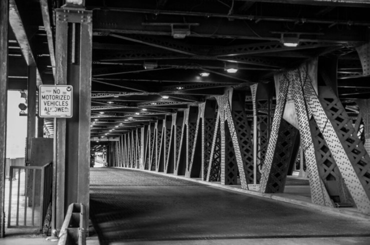 Bridge over Chicago River