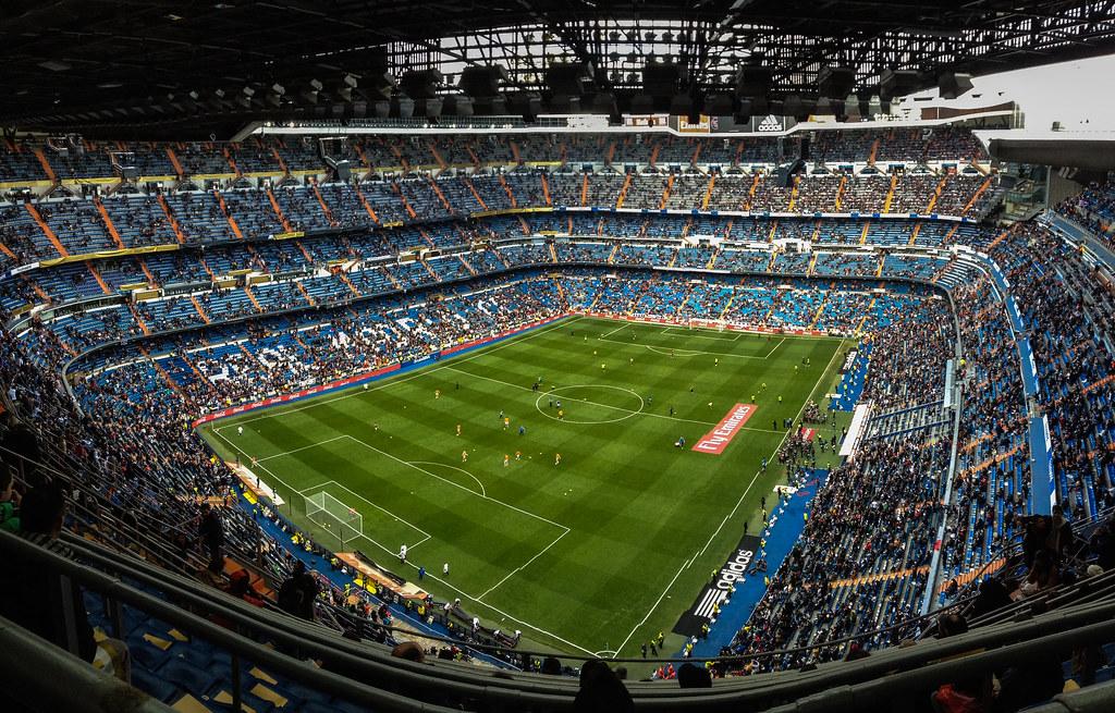 Panorámica Santiago Bernabéu
