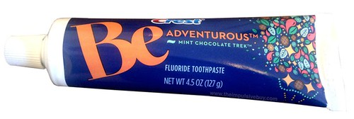 Crest Be Adventurous Mint Chocolate Trek Toothpaste
