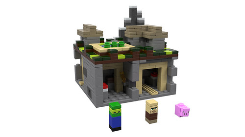 LEGO Minecraft: The Village