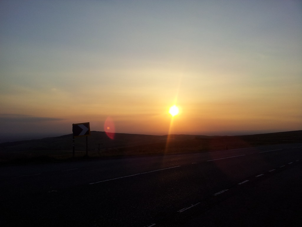 Sunset from Cat & Fiddle
