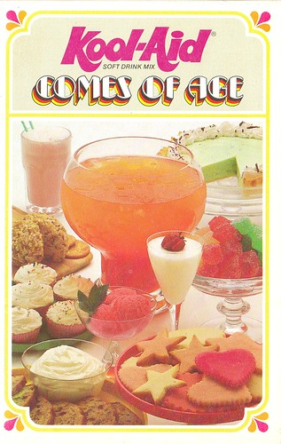 Inside the worlds only official kool aid cookbook cooking with id like to think that the book was a collaboration that involved general foods most adventurous maniacs sequestered in a kitchen lab with candy colored forumfinder Image collections