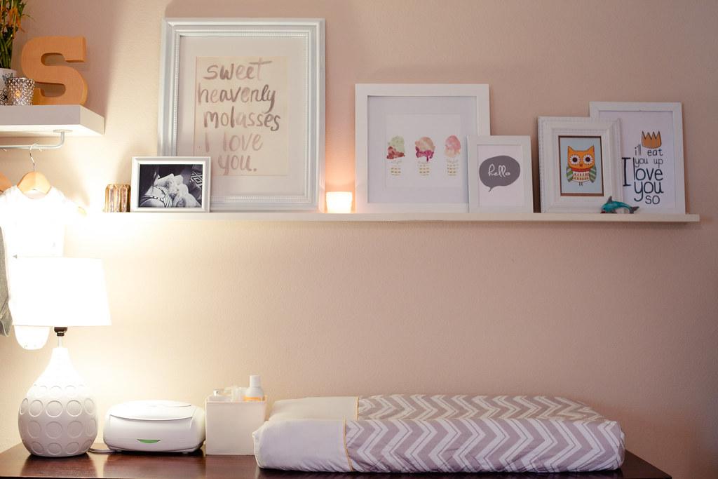Nursery Nook In Master Bedroom  Home Tour  Fresh Mommy Blog