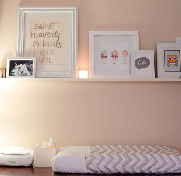 Nursery nook in master bedroom home tour fresh mommy blog Master bedroom plus nursery