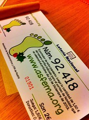 Lotero de Navidad ASFEMA 2014. 92.418