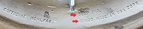 Dart / Homco example