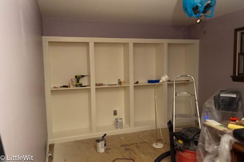 Ready for shelves