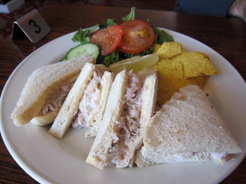 Crab and Shrimp Sandwiches