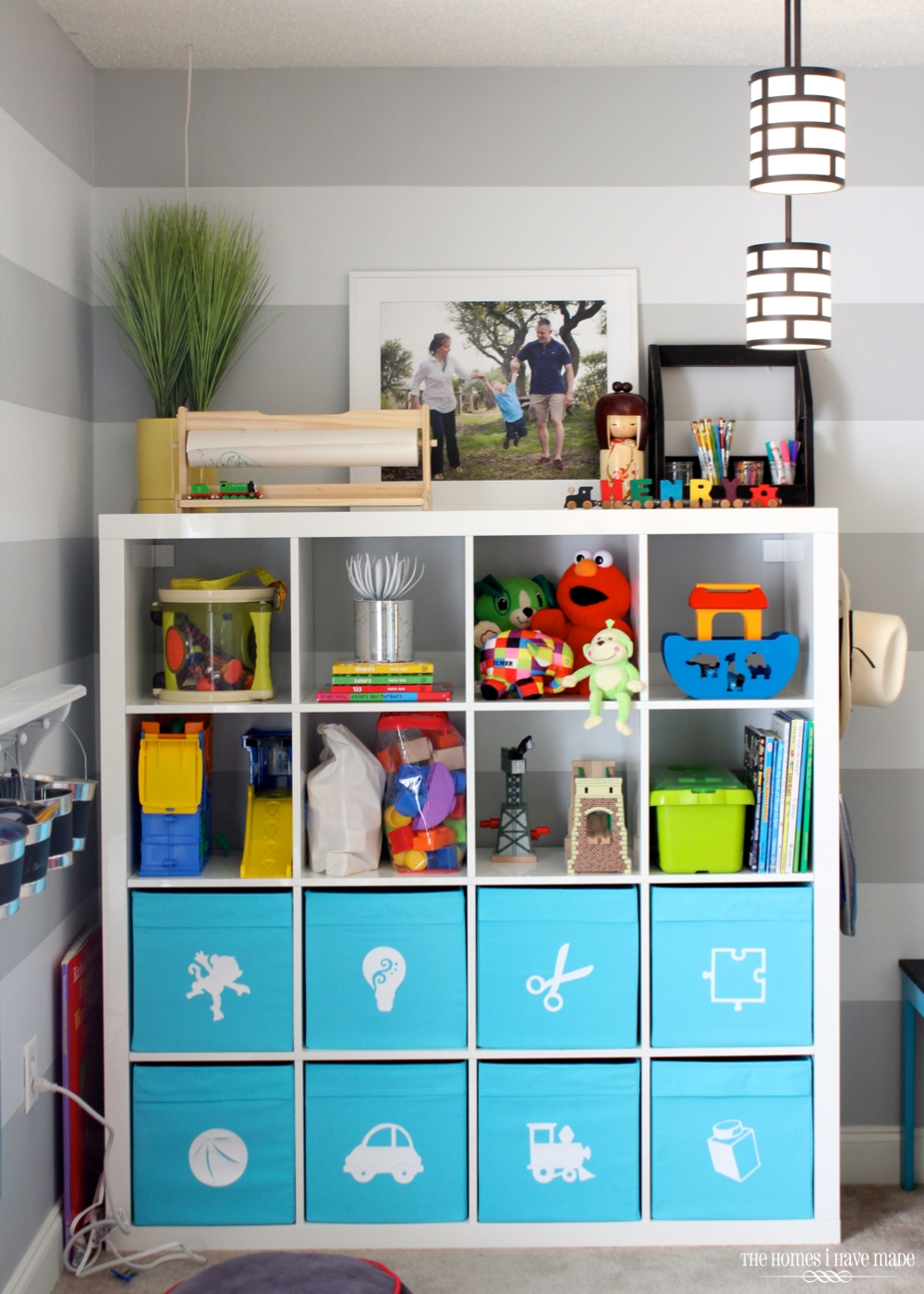 Toy Storage In An Ikea Expedit The Homes I Have Made