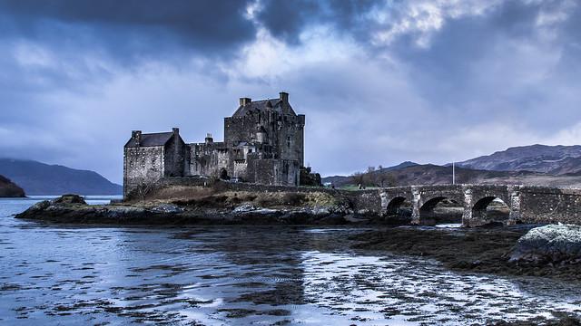 Eilean Donan Castle South