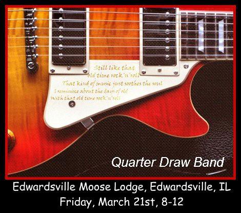 Quarter Draw Band 3-21-14