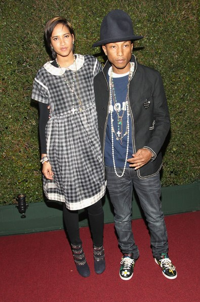 Helen Lasichanh, Pharrell Williams