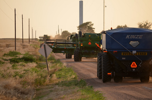 Moving down the road to our next field