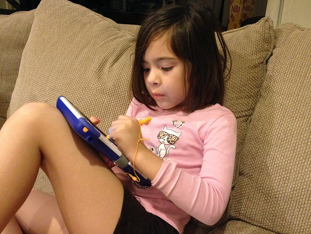 Playing with the VTech InnoTab 3S - very serious!