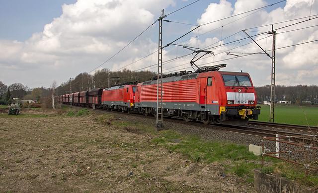 Hüthum DBS 189 034-2 en 189 035-9 ertstrein