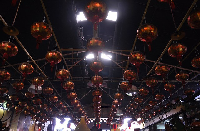 A Ceiling of Lanterns