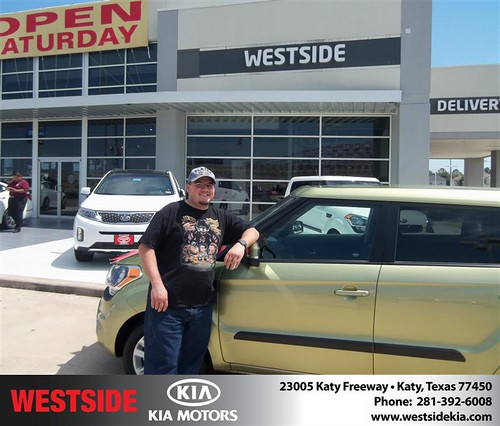 Happy Birthday to Robert W Garcia from Chowdhury Rubel and everyone at Westside Kia! #BDay by Westside KIA