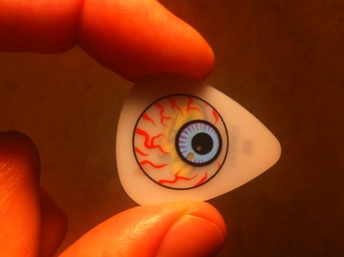 Guitar pick from Kepi Ghoulie