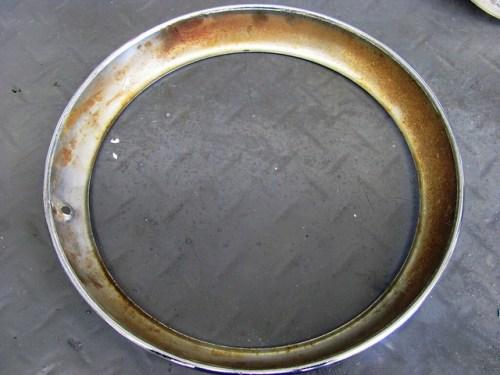 Rust on Inside of Chrome Trim Ring