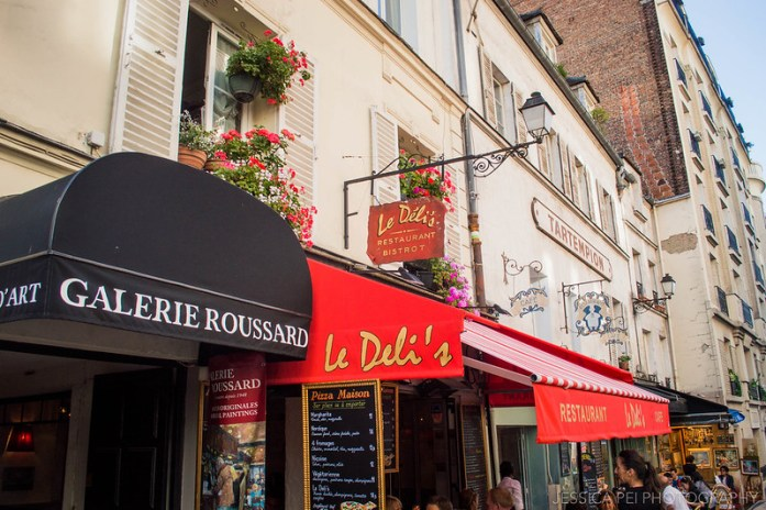 Montmartre Paris Restaurants