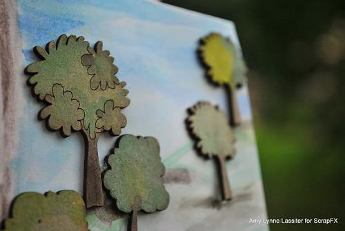 trees card close