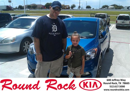 Thank you to Justin Taylor on the 2014 Kia Forte from JR Greenwood and everyone at Round Rock Kia! by RoundRockKia
