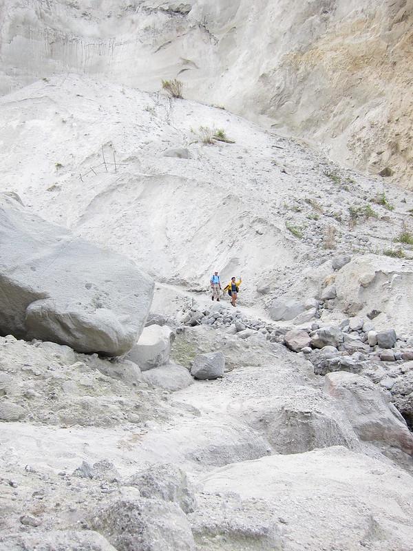 Trekking Pinatubo's crater 2012