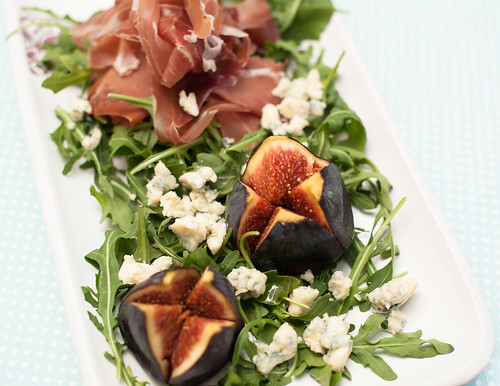 Fig, Prosciutto & Blue Cheese Salad