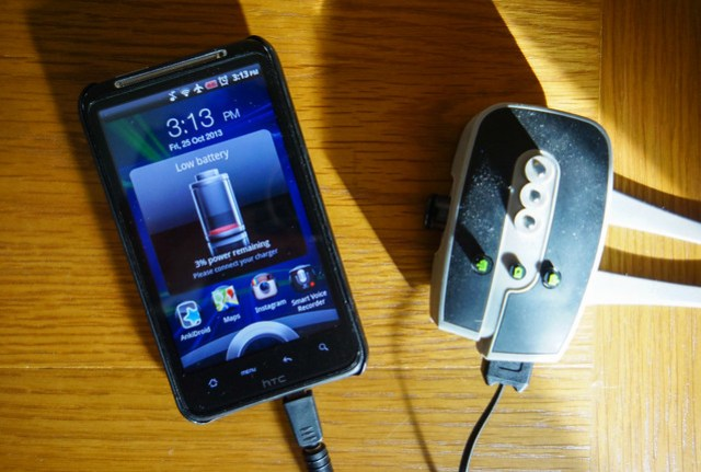 ReeCharge with HTC Desire HD 1