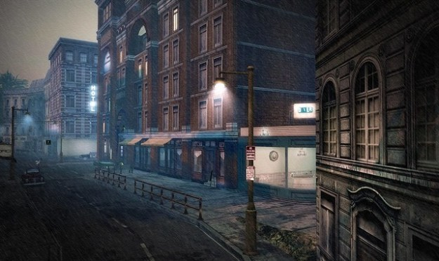 morning rain at Mad City - Somewhere in sl 629 (Mad City by MadPea Productions, Da Vinci Isle (173, 178, 28))