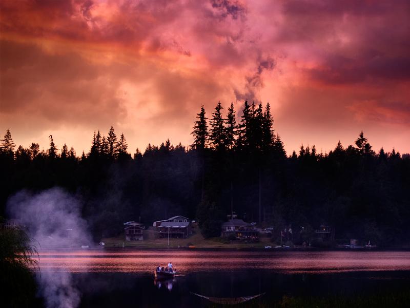 Lake end