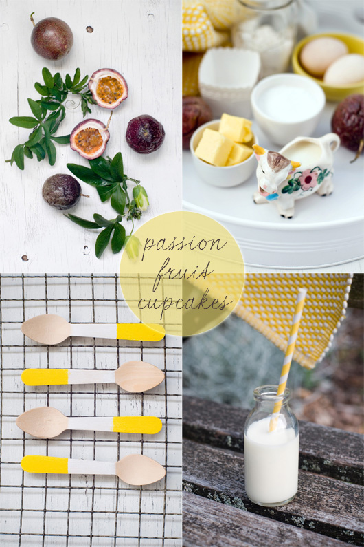 Passion Fruit Cupcakes Recipe