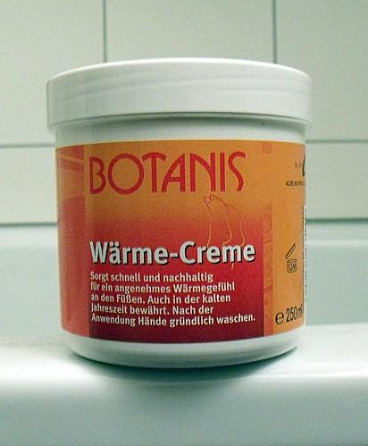 Botanis Wärme Creme 1