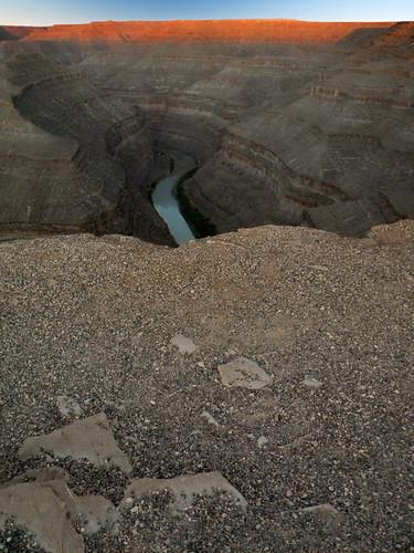 Camping at Gooseneck Canyon