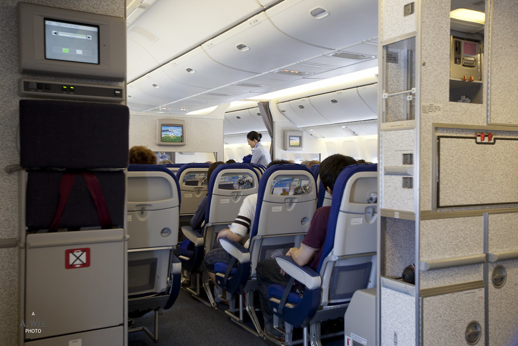 Galley of the 777-200