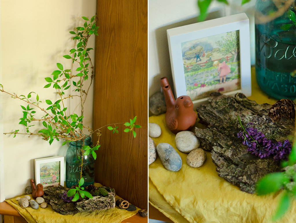 corners of my home // mid-spring 2